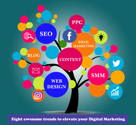 Eight awesome trends to elevate your Digital Marketing