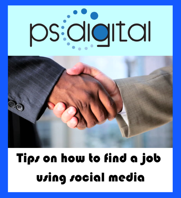 Tips on how to find a job using social media