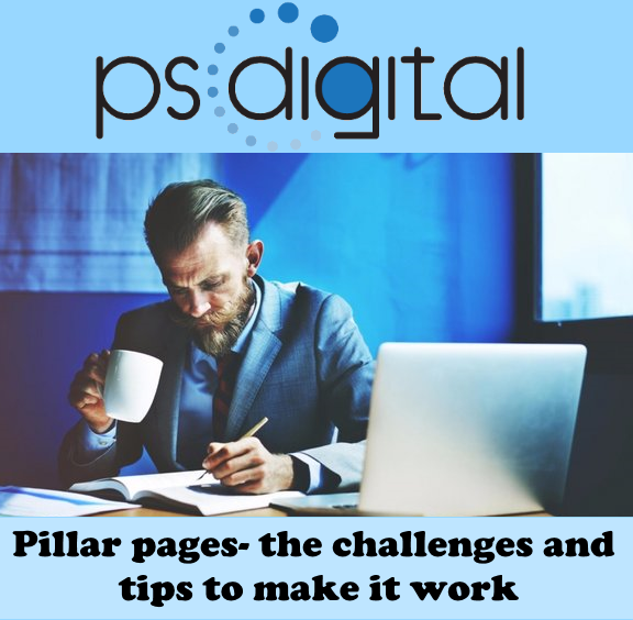 Pillar pages- the challenges and tips to make it work